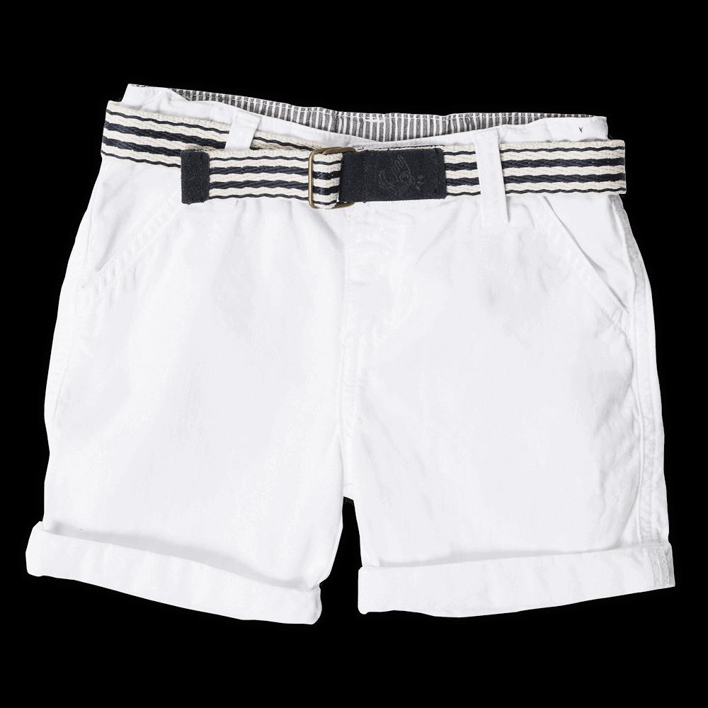 Pantalones cortos de jogging con interior de forro polar y cord/ón Indicode Aldrich